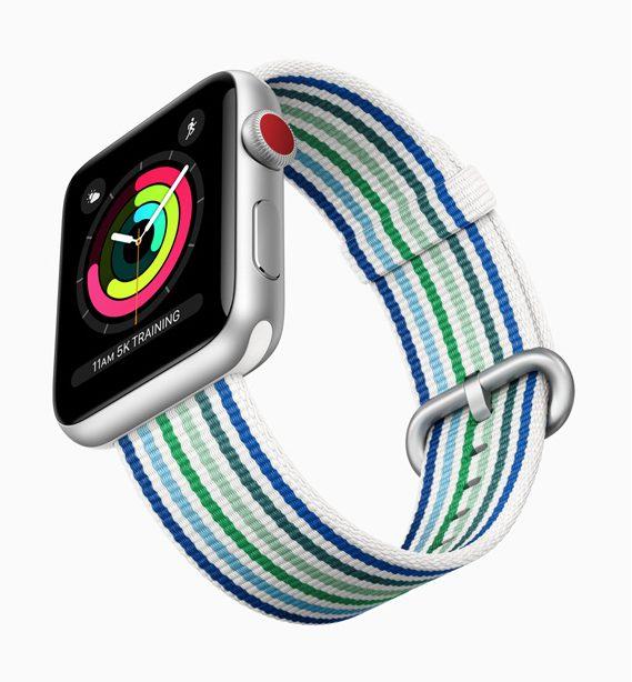 Nouvelle Collection Apple Watch Printemps 2018 2 Apple dévoile les bracelets de lApple Watch pour le printemps 2018