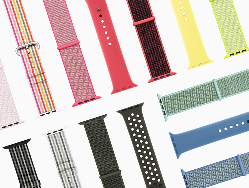 Nouvelle Collection Apple Watch Printemps 2018 Apple dévoile les bracelets de lApple Watch pour le printemps 2018