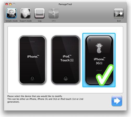 PwnageTool314 Jailbreak 3.1.2   PwnageTool 3.1.4: iPhone 3GS / iPhone 3G / iPhone EDGE / iTouch 2G