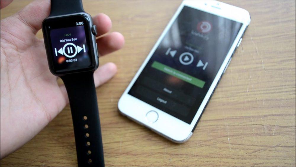 Spotify Apple Watch Lapp Spotify pour Apple Watch présentée lors de la WWDC 2018 ?