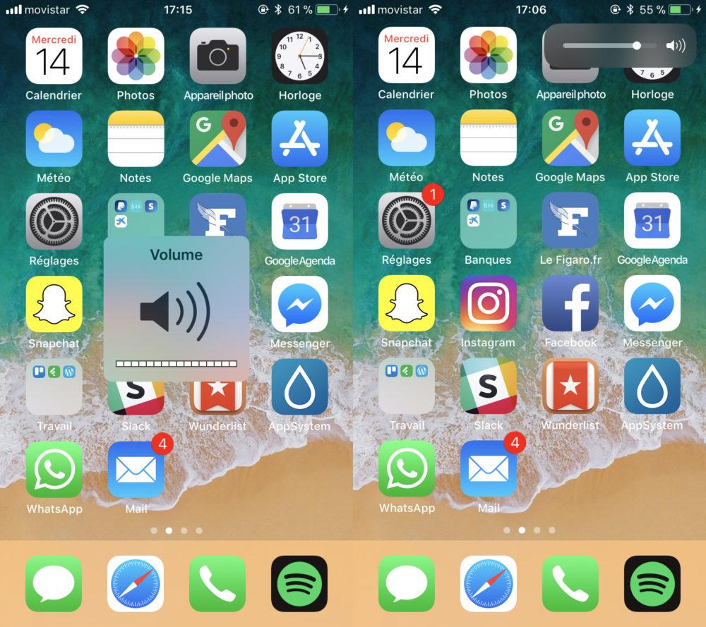 VideoHud Cydia : le tweak VideoHUD rend votre barre de volume plus discrète (iOS 11)