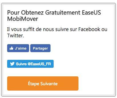 encadre Bon plan : une licence de EaseUS MobiMover 3.0 gratuite