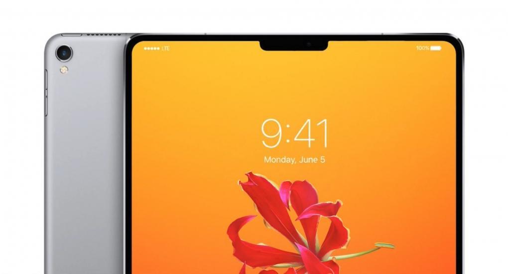 iPad Pro Encoche Début de production de liPad Pro avec Face ID, lancement en juin ?