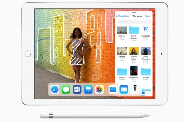 iPad nouveau Keynote : Apple dévoile un iPad low cost compatible Apple Pencil