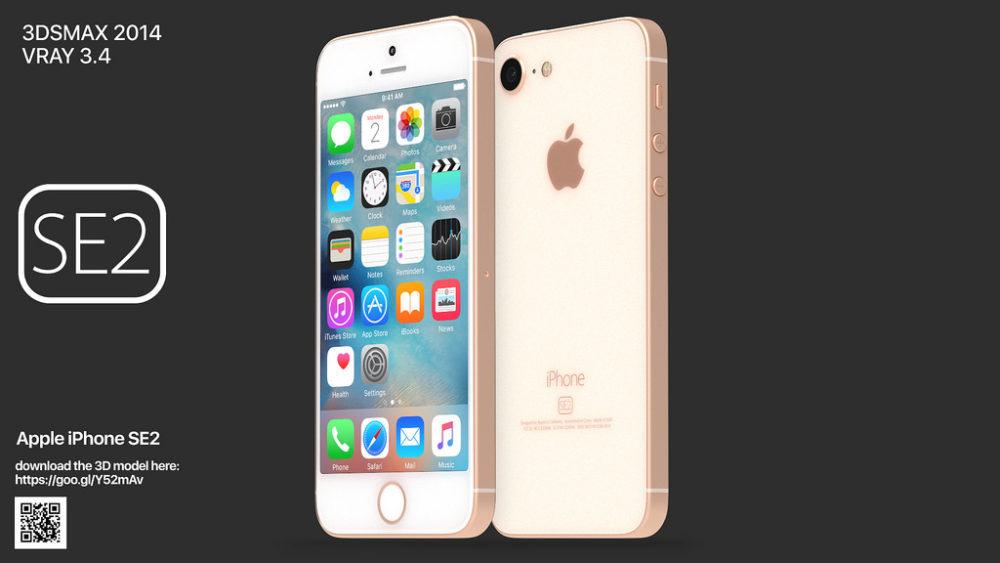 iPhone SE 2 Concept 1000x563 iPhone SE 2 : lanalyste Kuo sattend à au moins 20 millions de ventes en 2020
