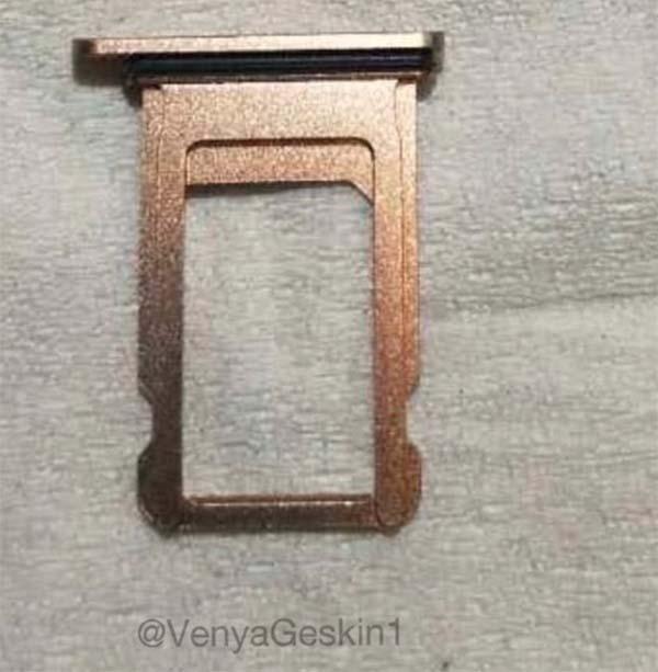 iPhone X Blush Gold La production de liPhone X version gold aurait débuté