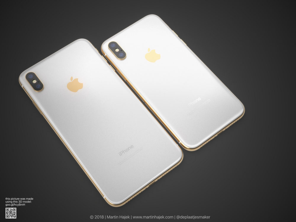 iPhone X Gold 6 Un concept diPhone X gold signé Martin Hajek