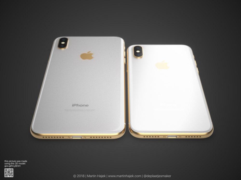 iPhone X Gold 9 Un concept diPhone X gold signé Martin Hajek