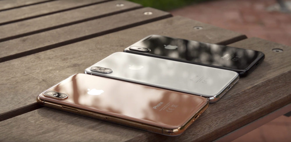 iPhone X Gold Analyse : vers une simplification extrême des noms diPhone ?