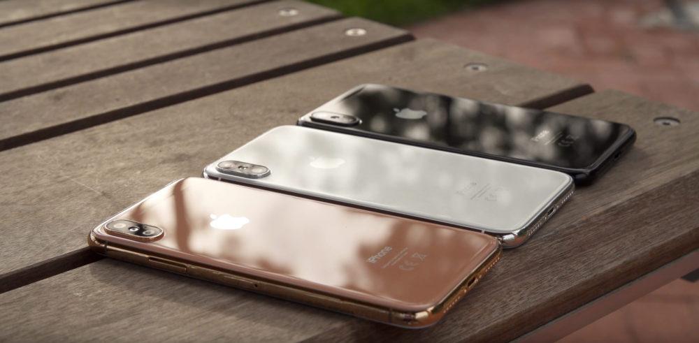 iPhone X Gold Les 3 iPhone de 2018 confirmés par RBC Capital