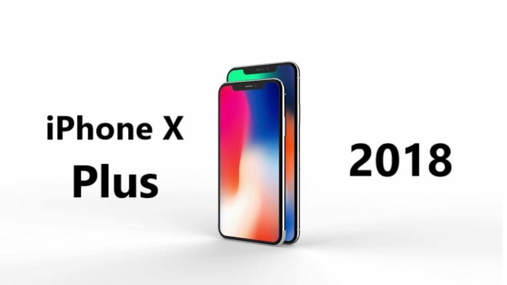 iPhone X Plus Concept iPhone de 2018 : concept des différents modèles attendus cette année