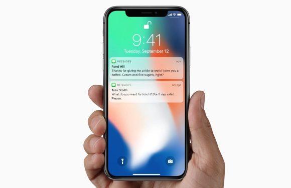 iPhone X messages Bug iOS 11 : Siri peut lire les messages cachés depuis le Lockscreen