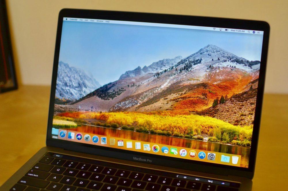 macOS High Sierra 1 macOS 10.13.4 bêta 6 est disponible au téléchargement