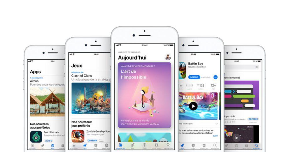 App Store Première baisse du nombre dapps de lApp Store en 2017