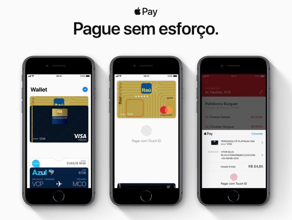 Apple Pay Bresil Apple Pay est disponible au Brésil avec la banque Itaú Unibanco