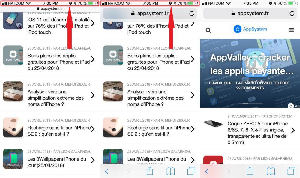 Atteindre Haut Safari Sur iPhone 1000x593 Comment atteindre rapidement le haut dune page sur iOS