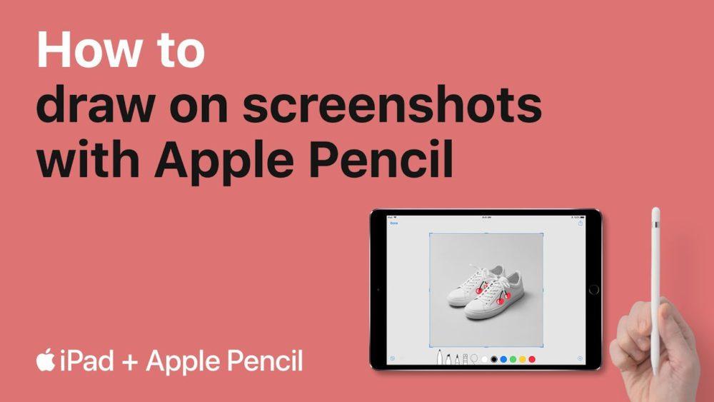 Tuto iPad Apple Pencil Apple publie 2 nouvelles astuces pour iPad en vidéo