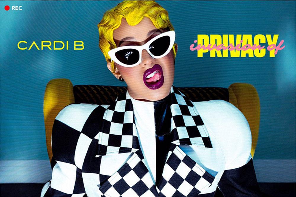 cardi b invasion of privacy Cardi B détrône Taylor Swift sur Apple Music avec son album Invasion of Privacy