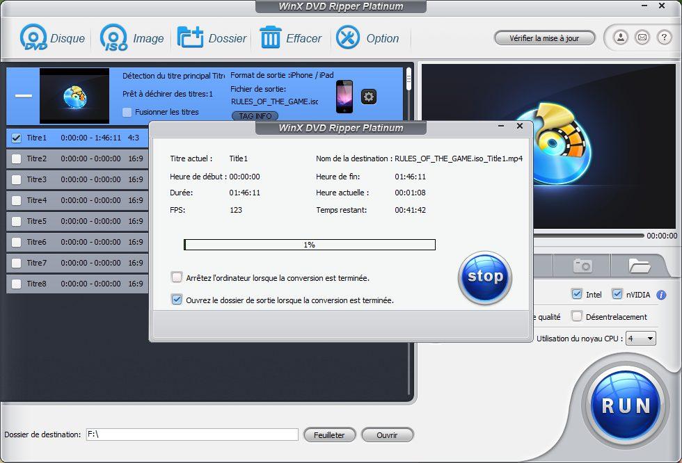 comment copier ripper un dvd Tutoriel : comment transférer un DVD sur iPhone ou iPad