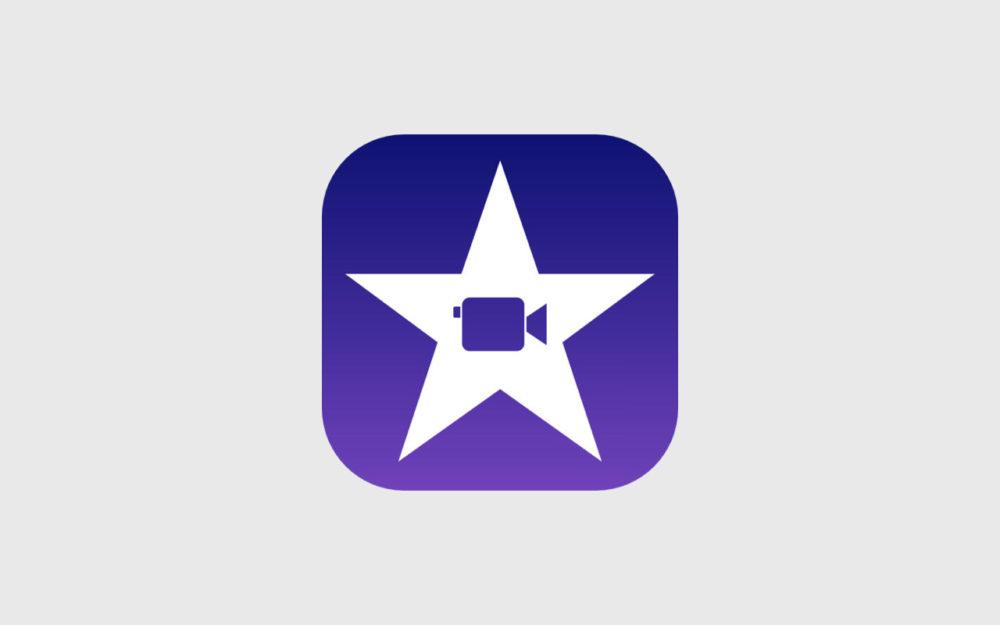 Lapp iMovie enfin mise à jour pour iPhone X