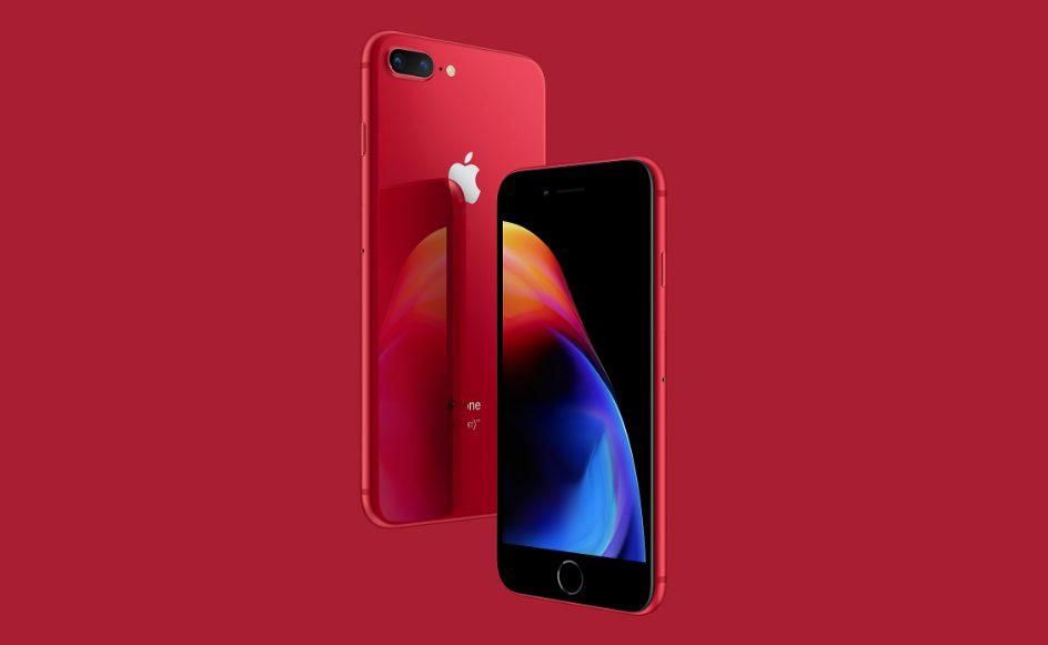 iPhone 8 Rouge Les iPhone 8 et 8 Plus rouges disponibles à la commande