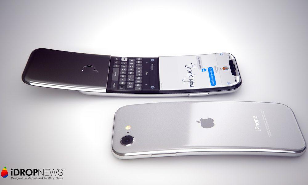 iPhone Ecran Incurve 1 Nouveau concept diPhone avec un écran incurvé