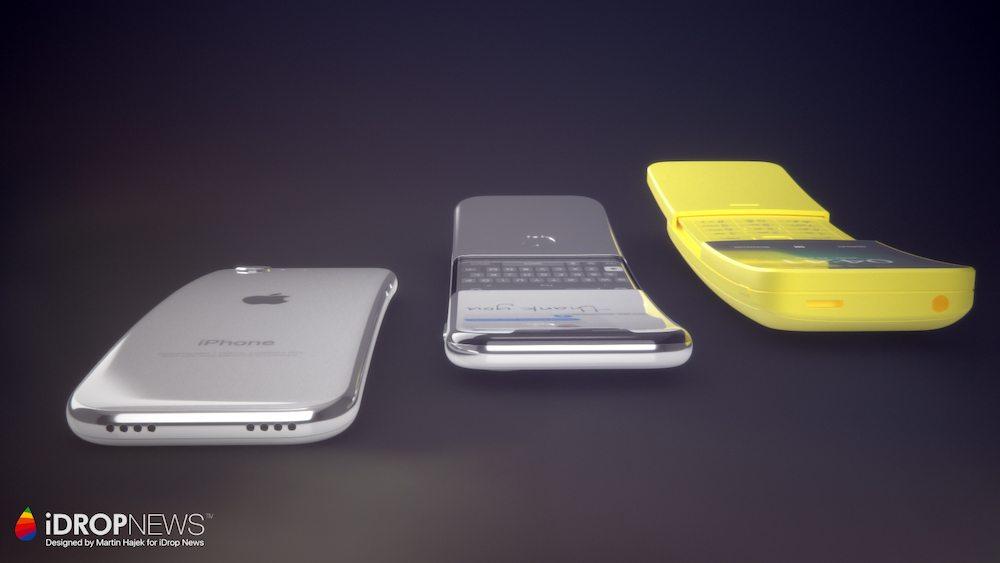 iPhone Ecran Incurve 2 Nouveau concept diPhone avec un écran incurvé