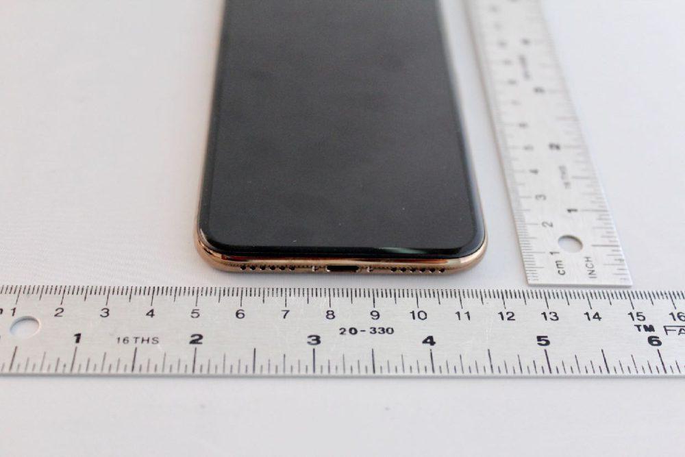 iPhone X Gold FCC 3 Des photos de liPhone X gold en fuite sur le net