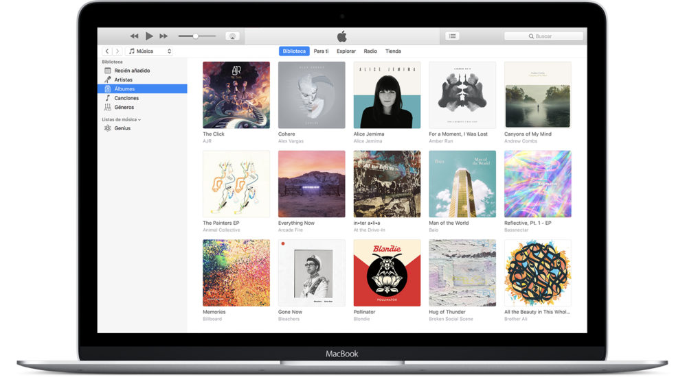 iTunes iTunes 12.6.4 est disponible au téléchargement, support de lApp Store