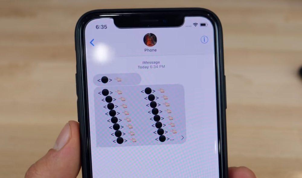 Emoji Boule Noire Un message contenant des Emojis boule noire peut faire planter un iPhone