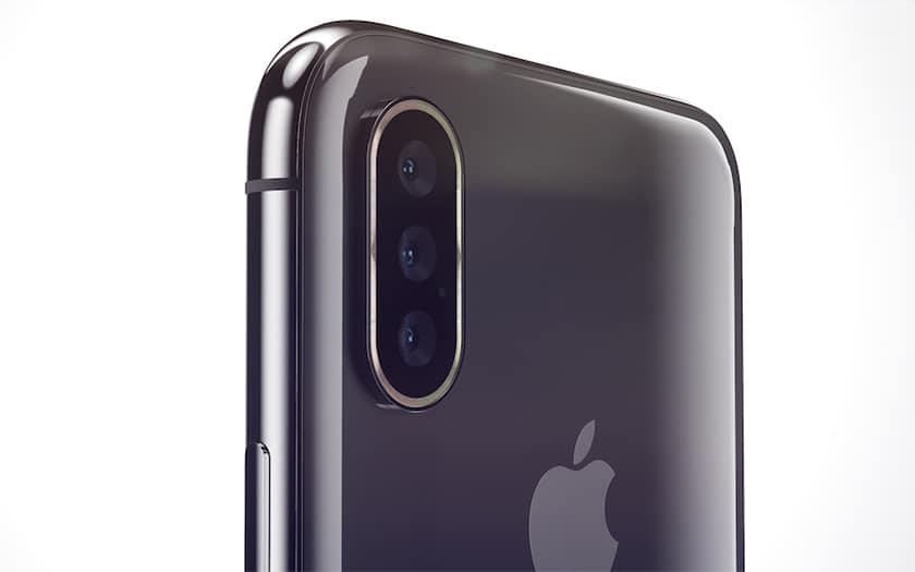Triple Capteur Photo LiPhone de 2019 serait doté dun triple capteur photo
