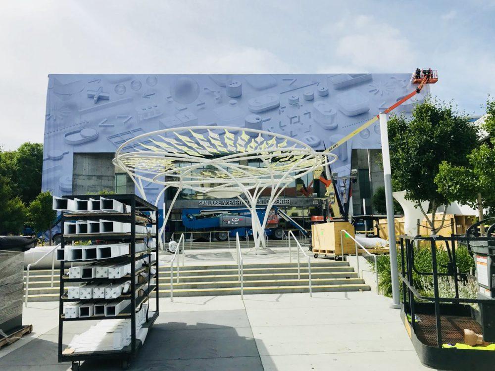 WWDC 2018 Deco 2 Le McEnery Convention Center se met aux couleurs de la WWDC 2018