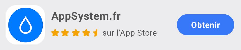 AppSystem.fr App iOS pour iPhone