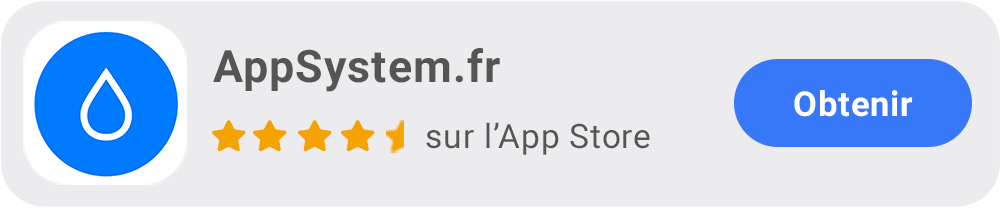 AppSystem.fr App iOS pour iPhone