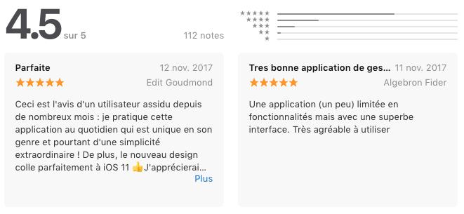 avis Moneon : une appli iPhone pour gérer son budget et ses dépenses
