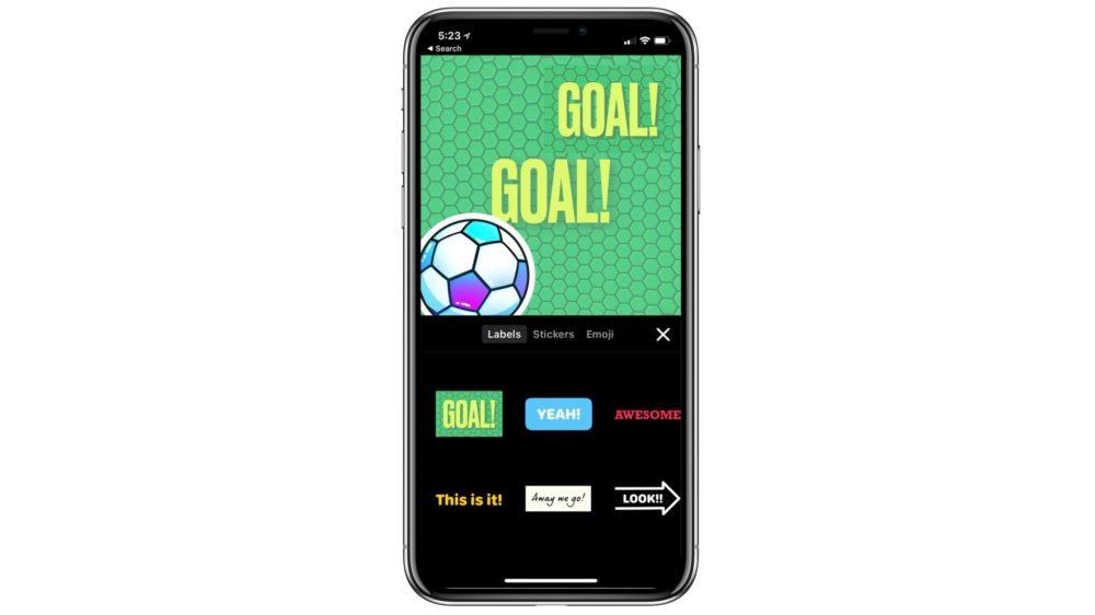clips soccer Apple met à jour Clips et ajoute du contenu lié au foot