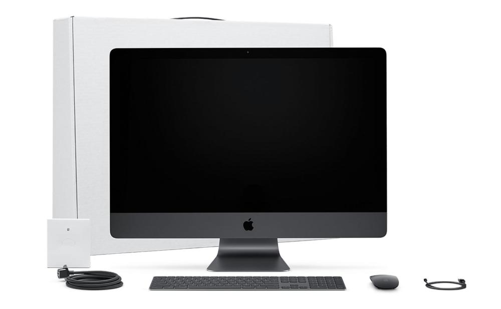 iMac Pro 1000x618 Un brevet décrit un Mac avec Face ID et le contrôle par les gestes
