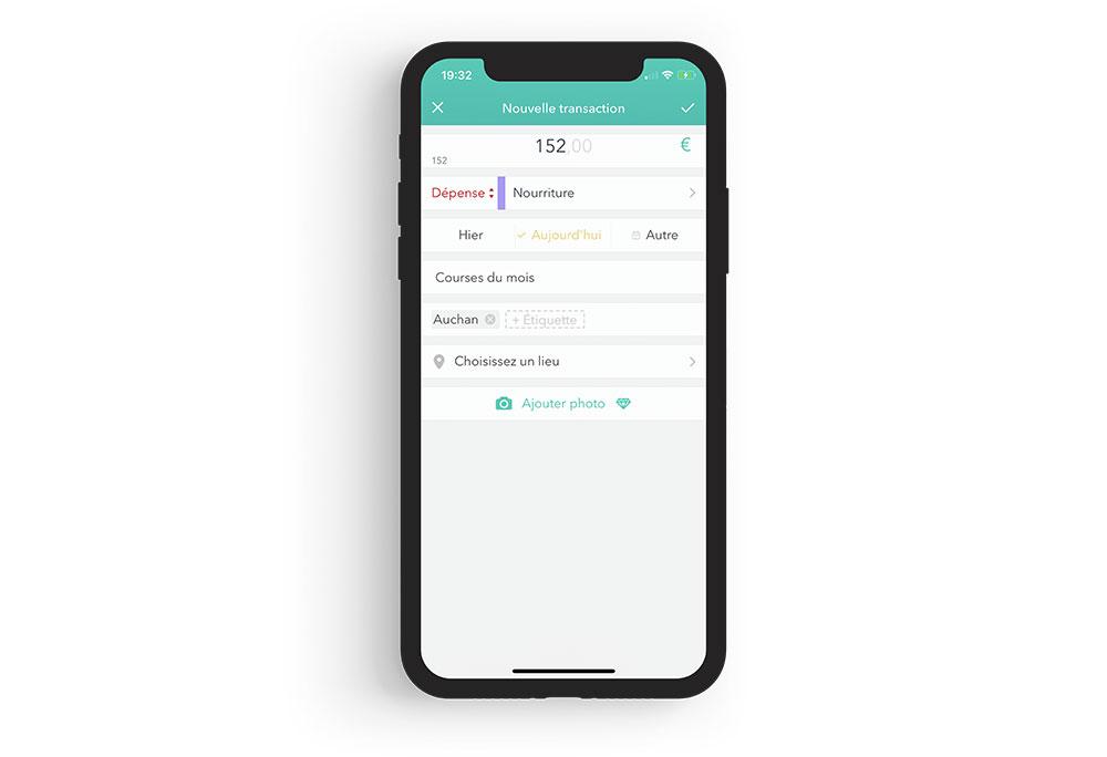 moneon iphone Moneon : une appli iPhone pour gérer son budget et ses dépenses
