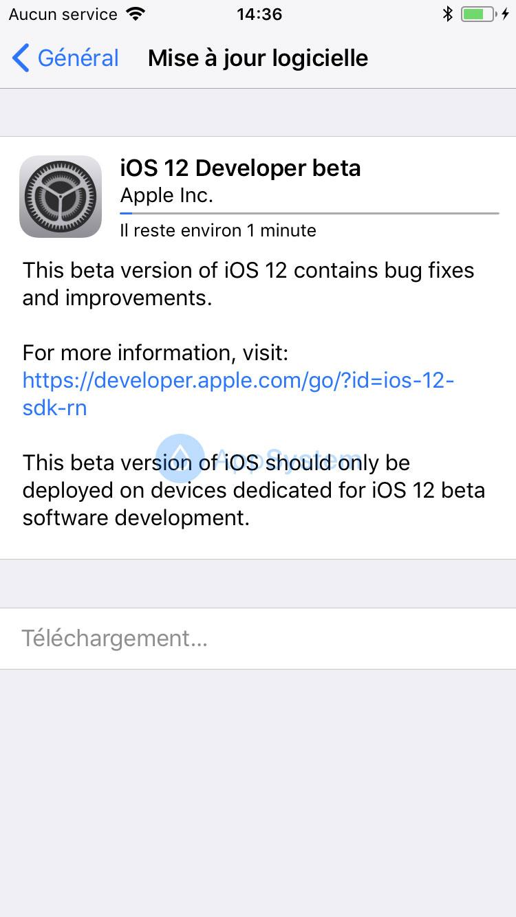 4 Comment installer iOS 12 beta sans compte développeur