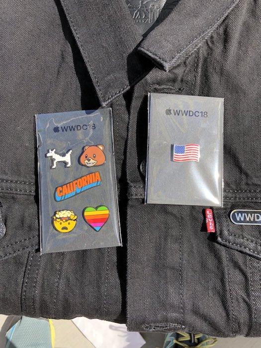 Cadeau WWDC 2018 WWDC 2018 : les développeurs ont droit à des vestes Levis et des pins