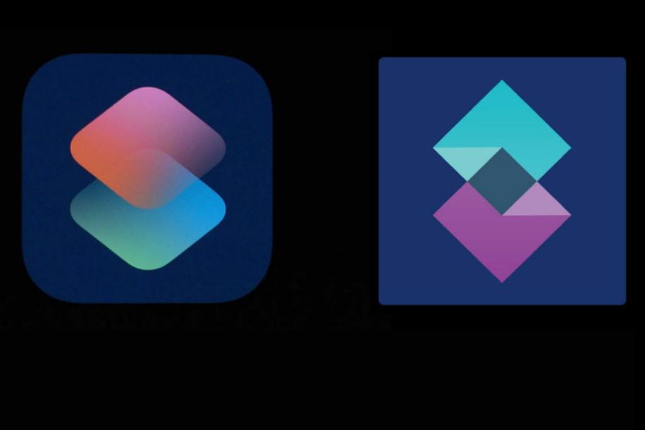 Logo Shortcuts Shift Apple Apple accusé davoir copié le logo de Shortcuts sur iOS 12