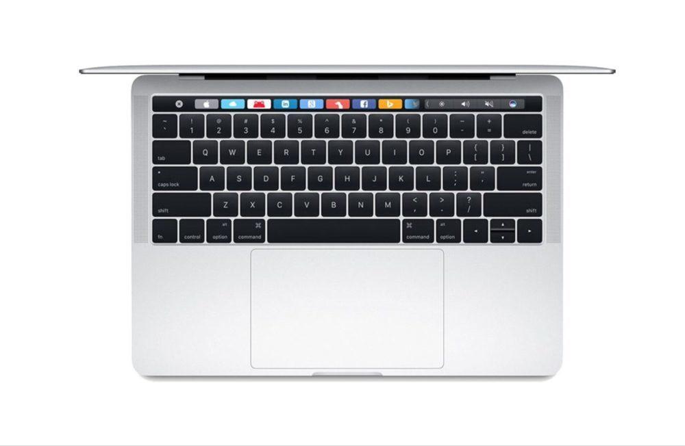MacBook Pro Avec Touch Bar 1000x652 Voici certains détails concernant la réparation du clavier des MacBook et MacBook Pro