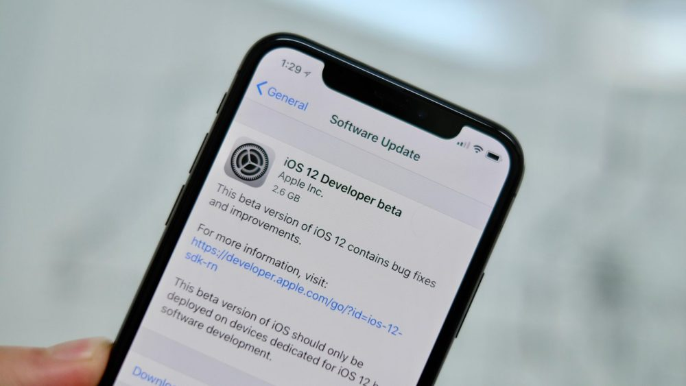 comment installer ios 12 beta Comment installer iOS 12 beta sans compte développeur