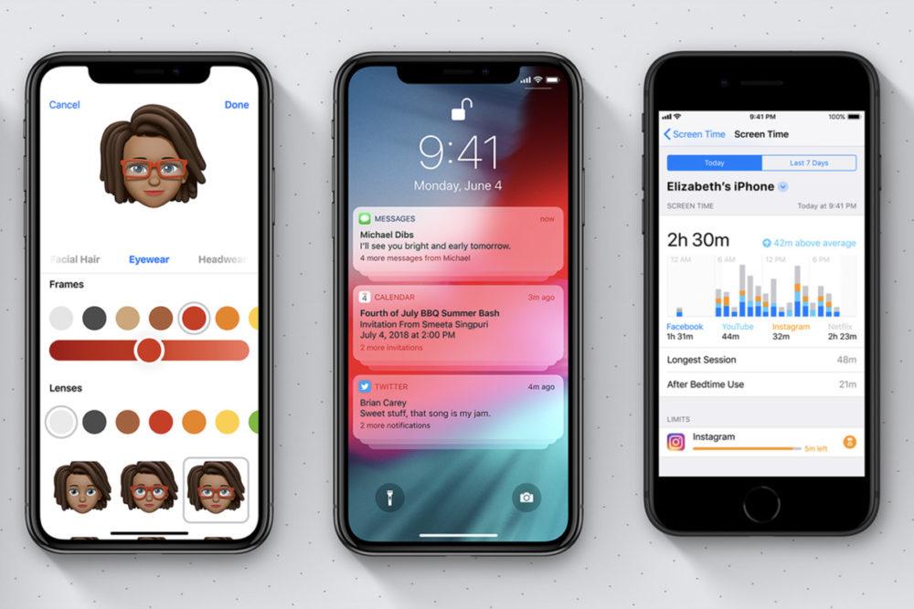 iOS 12 2 iOS 12 permet dajouter 2 visages sur Face ID