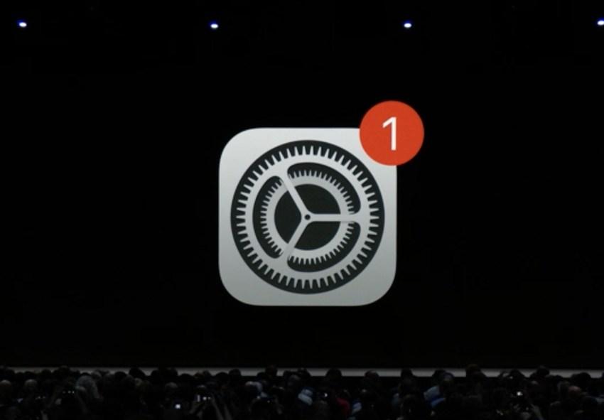 iOS Maj Auto iOS 12 ajoute les mises à jour automatiques