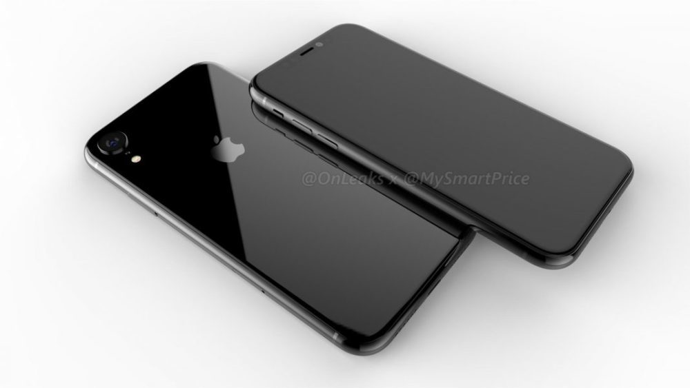 iPhone LCD 2018 1000x563 LiPhone LCD de 6,1 pouces serait disponible en quantités limitées au lancement et serait nommé iPhone Xr
