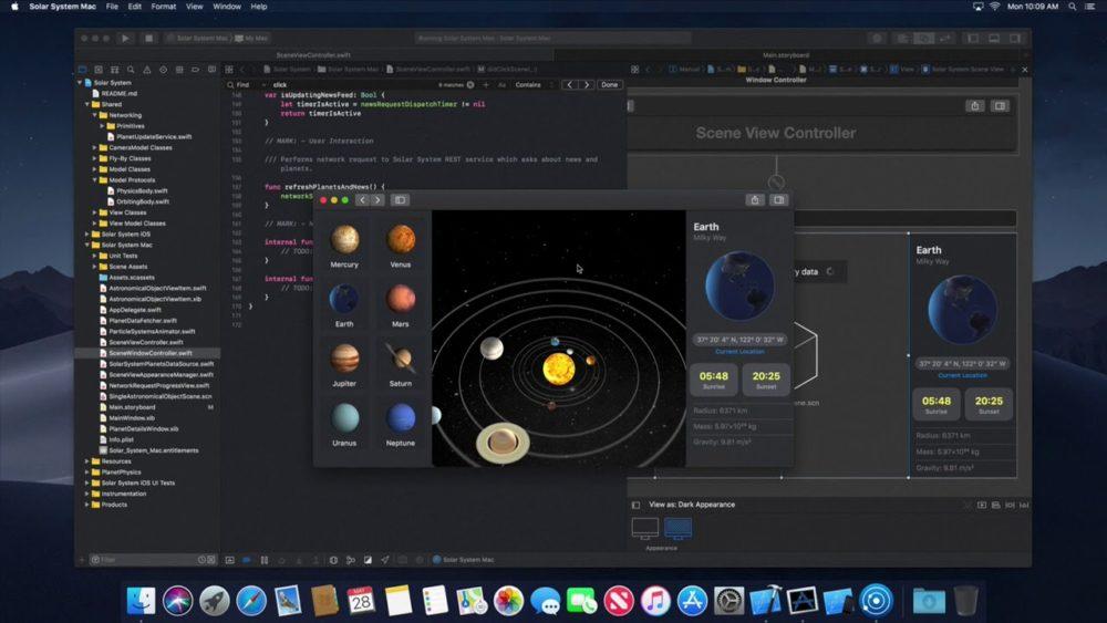 macOS 10 14 macOS 10.14 : plusieurs nouveautés dévoilées en images dont le mode sombre