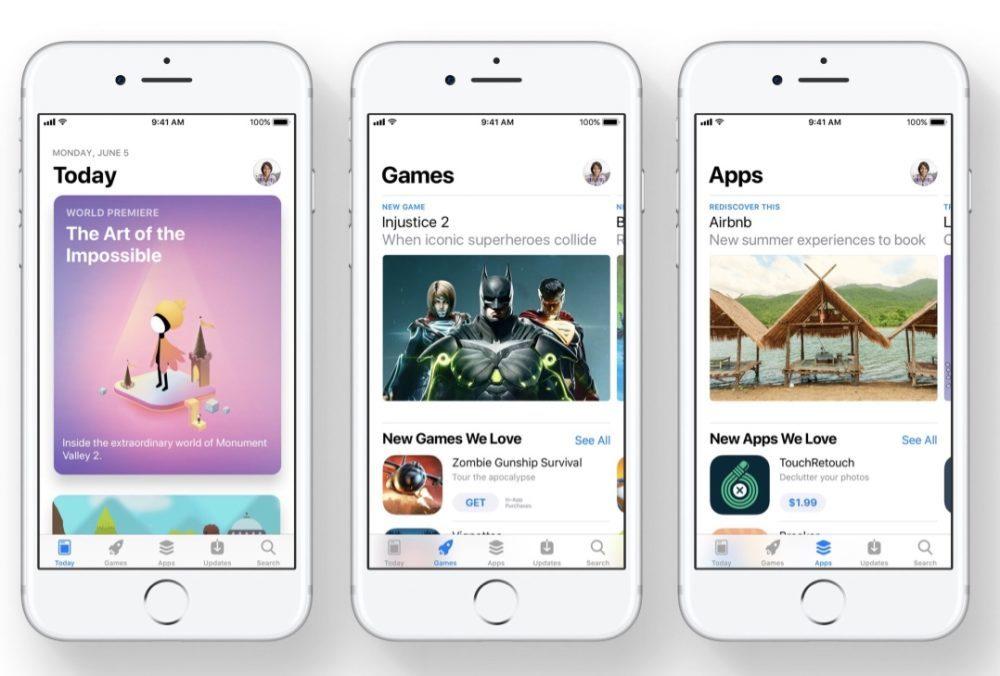 App Store iOS 11 Revenus 1000x676 L'App Store a réalisé presque 2 fois le revenu du Google Play Store (Q1 2018)
