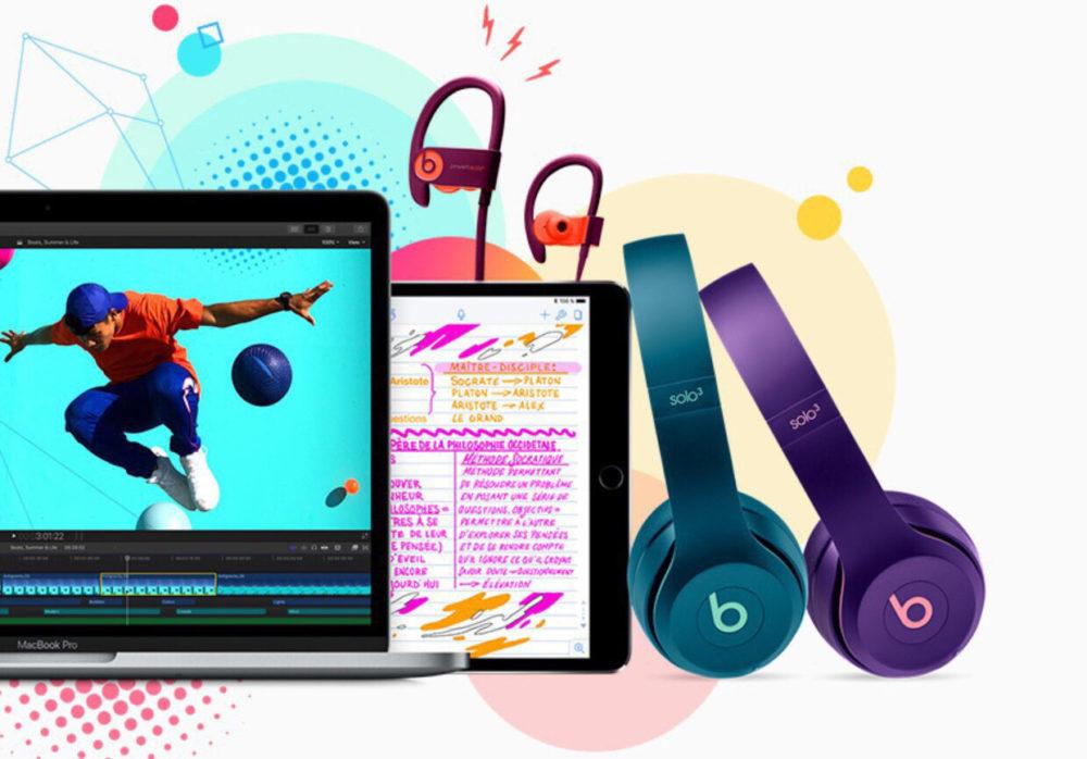 Apple Education Mac iPad Pro Beats 1000x698 Apple offre aux étudiants un casque Beats à l'achat d'un Mac ou d'un iPad Pro