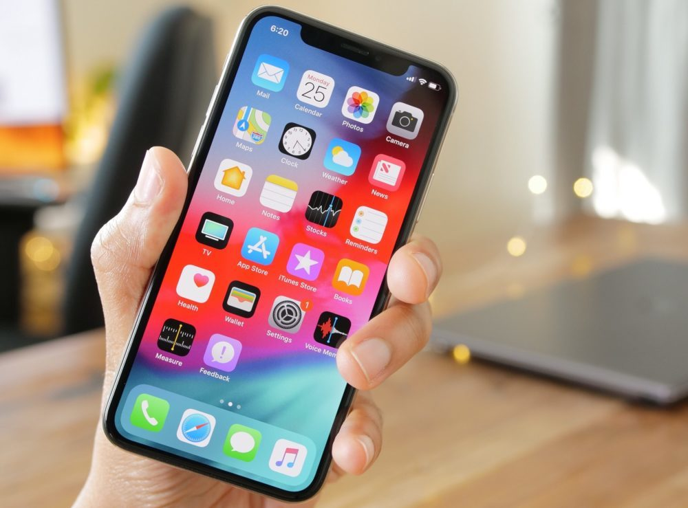 Apple iPhone X iOS 12 1000x739 iOS 12 bêta 4 version publique est disponible